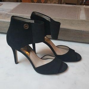 MICHAEL Michael Kors Black Velour Stilettos